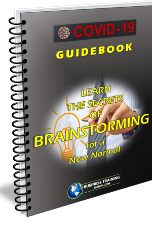 Photo of Guidebook-Photo of Guidebook-Learn the Secrets of Brainstorming for a New Normal