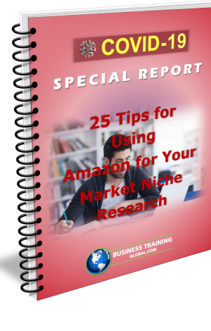 Photo of Special Report-25 Tips for Using Amazon for Your Market Niche Research
